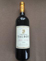 Rotwein Chateau Talbot Saint-Julien 2004