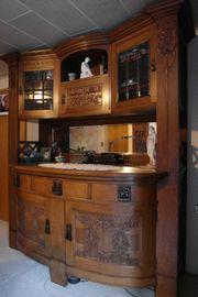 Möbel Jugendstil Kredenz Beistelltisch