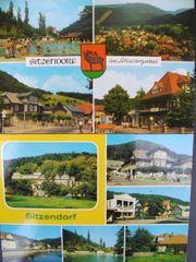 DDR Ansichtskarten Sitzendorf in Thüringen