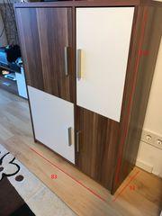 5 Wohnzimmermöbel Nussbaum