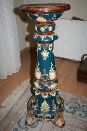 Majolika-Säule ca 1870