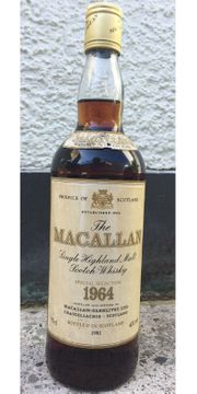 Macallan 1964 - Special Selection - bottled 1981
