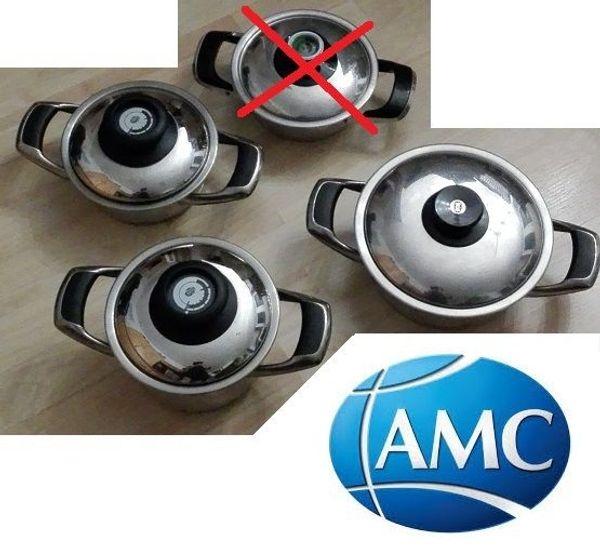 3x AMC Topf Visiotherm Induktion