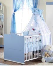 Prinzen Bett umbaubar zum Juniorbett