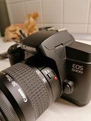 Canon Eos 5000 analog Kamera
