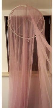 Moskitonetz Betthimmel Mückennetz rosa