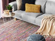 Teppich hellbunt 140 x 200