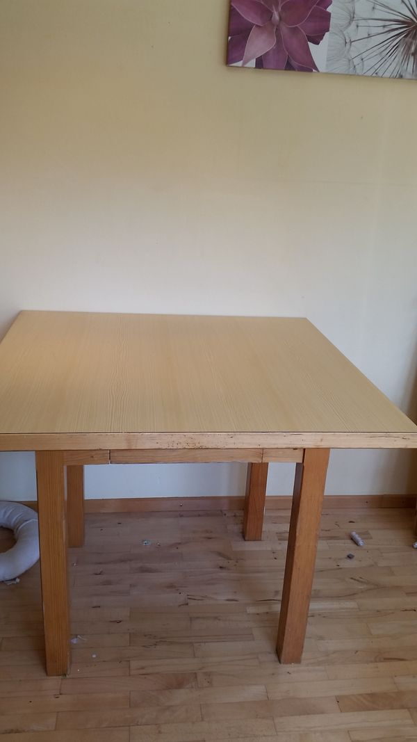 Tisch zu verschenken