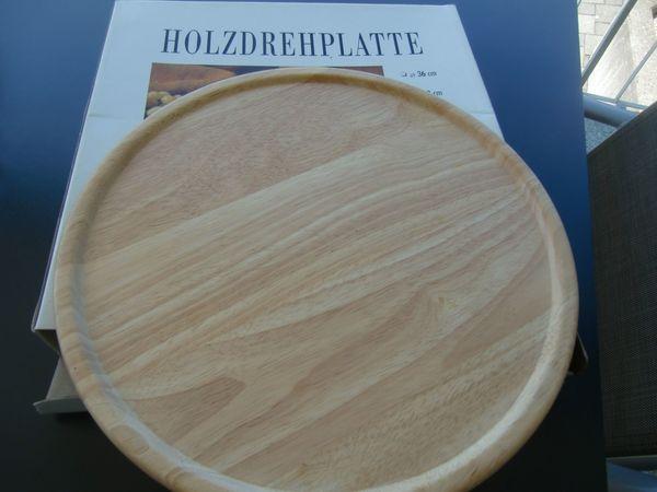 Holzdrehteller