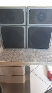 Satelitten-Box Paar gebraucht