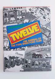 Typography Twelve Typografie 12 - Jahresbuch