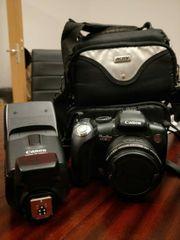 Canon Kamera mit Zubehör abzugeben