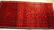 Orientteppich Belutsch 207x104 antik T110