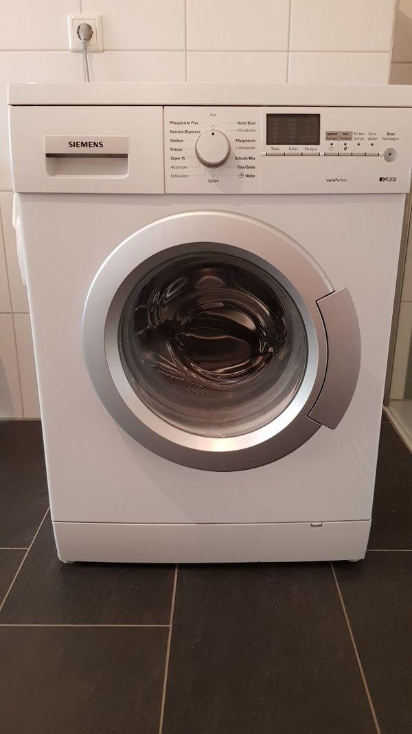 Siemens Waschmaschine iQ 300 in Mosbach - Waschmaschinen kaufen und ...