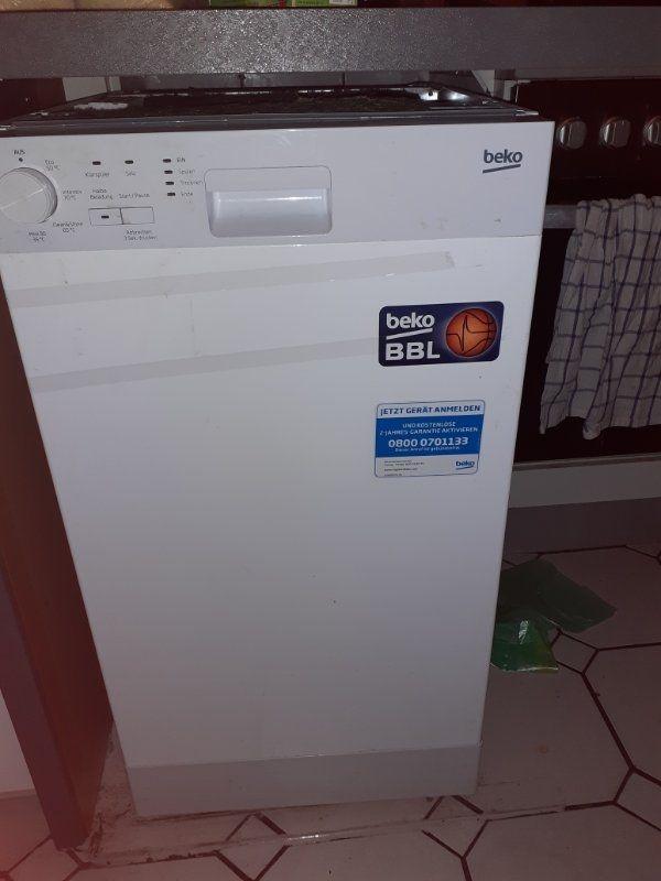 Beko Spülmaschine 10 Monate alt