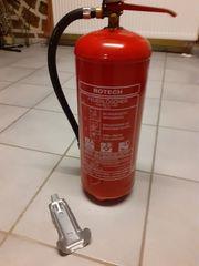 Feuerlöscher 6 kg