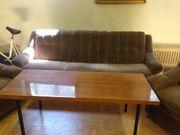 Couch mit 2 Sesseln zu