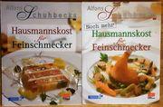 2 Kochbücher von Alfons Schuhbeck