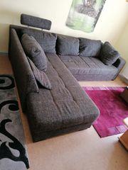 Couch Wohnlandschaft mit Bettfunktion