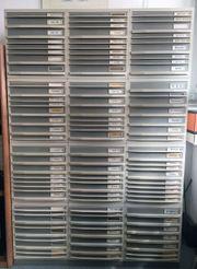 Schubladenboxen 12 Stück stapelbar - gebraucht