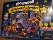 Playmobil Adventskalender Polizei unbenutzt