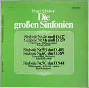 franz schubert-die großen sinfonien kubelik