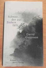 David Guterson Schnee der auf