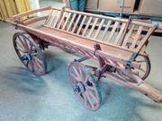 Historischer Leiterwagen aus Esche