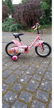Fahrrad 14 Zoll - Mädchen mit