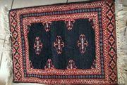 Orientalischer Knüpfteppich 60 x 45