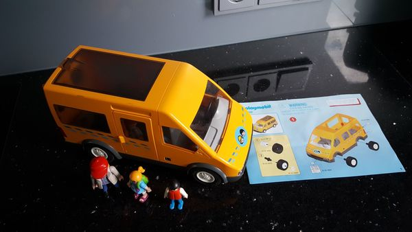 Playmobil 6866 Schulbus Ghostbuster Auto