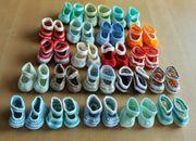 Babyschühchen - verschiedene Farbkombinationen