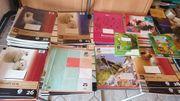 Hefte und Buchschutzhüllen für die