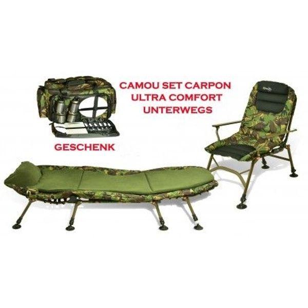 Stuhl Liege Ausrüstung mit Bissanzeiger