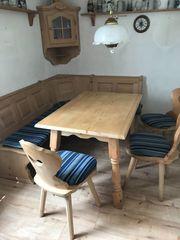 Bauernstube - Eckbank Set mit Tisch