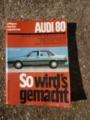 Audi 80 Reparaturbuch