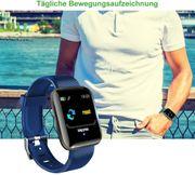 Smartwatch mit Pulsmesser Schritt - Kalorienzähler