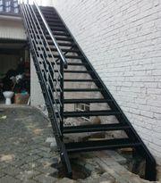 Metalltreppen aus Polen Stahlltreppen Zaun
