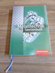 Tabellenbuch Metalltechnik mit CD