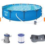 Pool Bestway Pool-Set rund 366