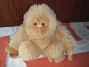 Plüschtier großer Affee