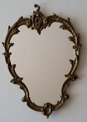 Wandspiegel Messing oval 39 x