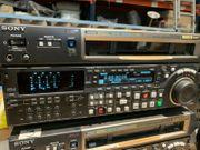 Sony HDW-M2000P HDCam Studio Videorecorder