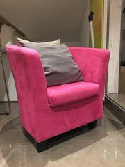 Sessel Pink