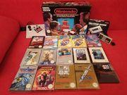 Nintendo NES Spiele inkl Zub