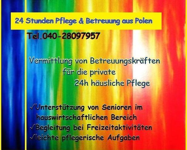 Hamburg Pflegepersonal aus Polen Vollzeitpflege