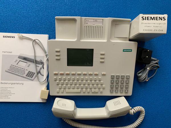 Siemens Memoset Analogtelefon
