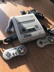 Super Nintendo inkl 2 Controller