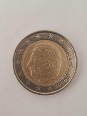 Fehlprägung belgische 2 Euro Münze