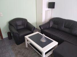 Designermöbel, Klassiker - Echt Leder Sofagarnitur 3 1